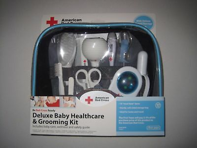 The First Years American Red Cross Deluxe Baby Healthcare & Grooming Kit - 97