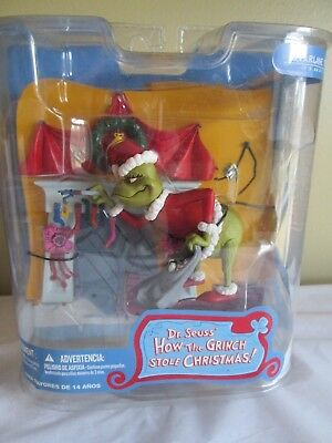 "New Sealed In Box ""You're a Mean One, Mr. Grinch"" McFarlene Dr. Seuss 2007 Mint!"
