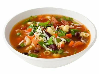 NEW (113590)   EXCELLENT MINESTRONE SOUP  - (1 carb)
