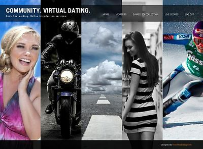 Community  Website+Domain+ FTP Hosting+Mail account. Dating company. Friendship