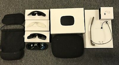 Google Glass Explorer Edition XE-C Shale Glasses FREE EXTRAS AND SHADES