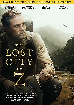 The Lost City of Z (DVD, 2017) Ships in 1 Business Day with Tracking