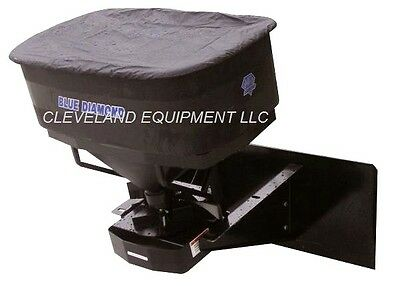 NEW SALT SPREADER ATTACHMENT for fit Skid-Steer Track Loaders & Compact Tractors