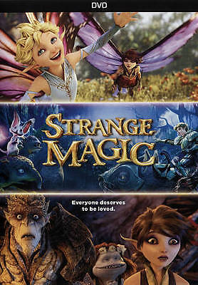 Strange Magic (DVD, 2015) NEW & SEALD WITH SLIPCOVER