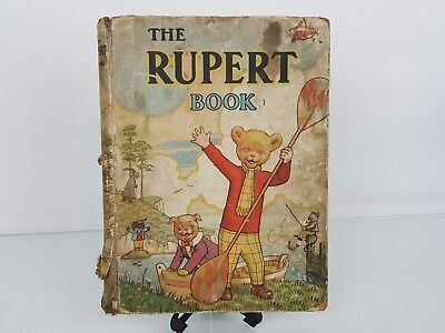 Rupert Annual 1941 Original - The Rupert Book By Bestall Alfred
