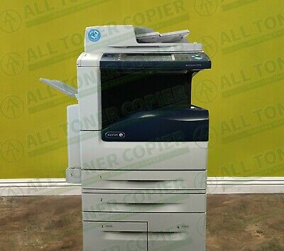 Xerox Workcentre 7970i Color Tabloid Printer Copier Scanner Fax Laser 70PPM 250K