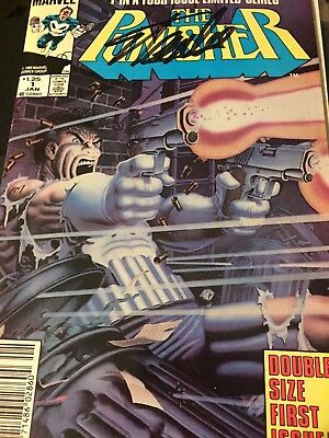 Stan Lee Signed Punisher #1 of 4 (1985) Original Comic