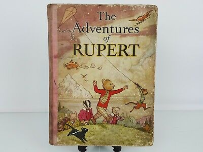Rupert Annual 1939 Original - The Adventures Of Rupert