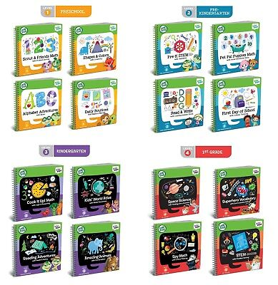 Leapfrog LeapStart Books Level 1 to 4 (age 2 - 7 years) **BRAND NEW**