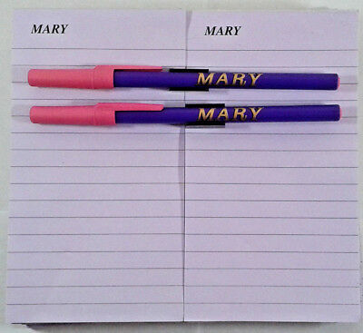 300 Sheets Note Pad Magnetic Attraction (Mary) Pen And Magnetic Pen Holder