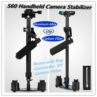 S60N/S60T Handheld Camera Stabilizer Steadicam Gradienter Adjustable
