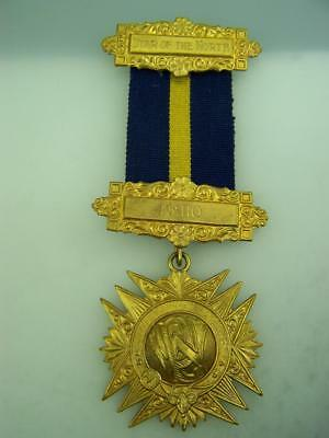 1970 Freemason Masonic Medal for services rendered... Star of the North     3002