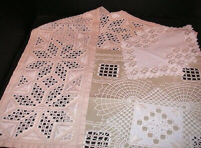 Hardanger Embroidery - Lot of 4 Doilies