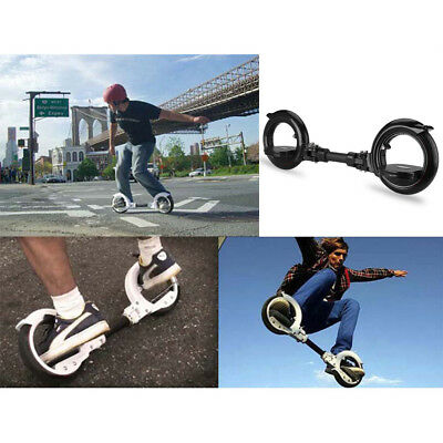 Professional Two Wheels Skate Board Skatecycle Hubless Self-assembly Disassembly