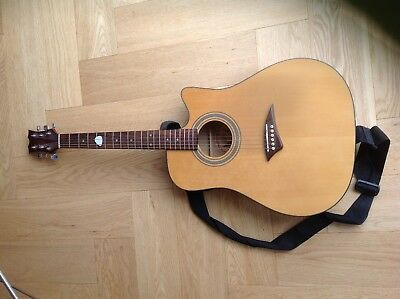 Used Dean electric acoustic guitar