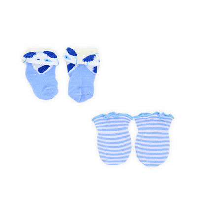 1-5 Pairs Baby Boy Socks and Mittens Newborn Gift Set Range of Colourful Designs