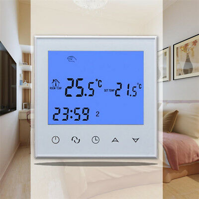Digital Heating Programmable Thermostat LCD NTC Temperature Controller Loud