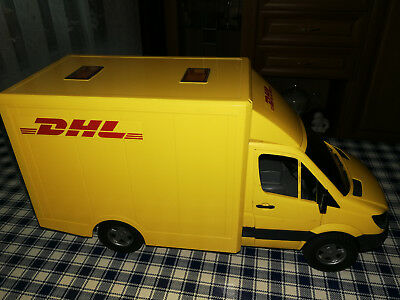 playmobil poststation mit dhl fahrzeug eur 4 50. Black Bedroom Furniture Sets. Home Design Ideas