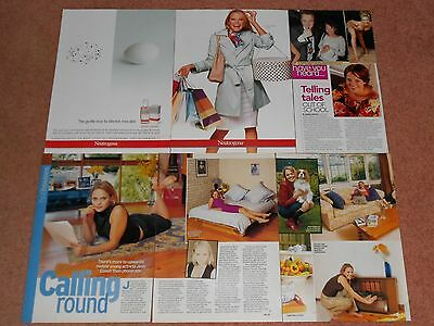 8- JESSICA GOWER Magazine Clippings