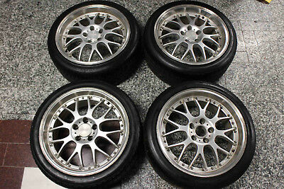 Set of 4 18x8.5 Speedy 18 inch 5 Stud Alloy Wheels and Tyres 235 40 18