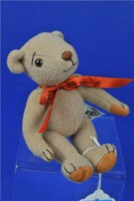 "Merrythought Brown Teddy Bear Plush Toy Collectable 6"" Limited Edition No. 219"