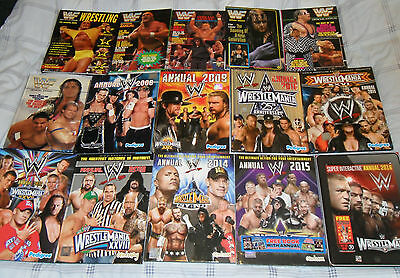 WWF WWE 15 Annual Collection