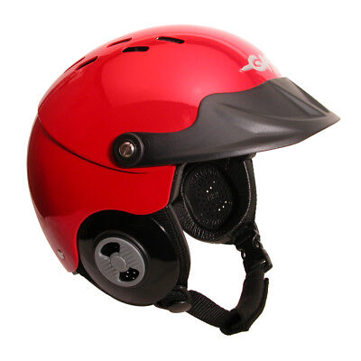 GATH Gedi Watersports Helmet with Peak (Red)