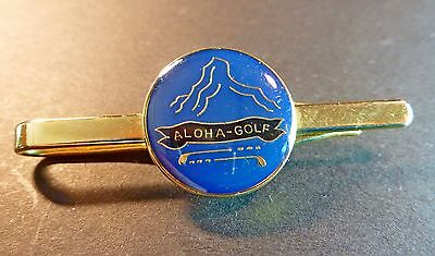 ALOHA GOLF CLUB Andalusia Spain EUROPE EUROPEAN GOLFING GOLFER TIE BAR PIN CLIP