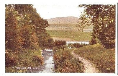 Sligo COUNTY GLENCAR LAKE IRELAND EIRE OLD POSTCARD 1952