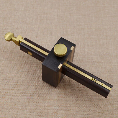 Black Sandalwood Screw Cutting Gauge Mark Wearproof Carpenter Woodworking Tool