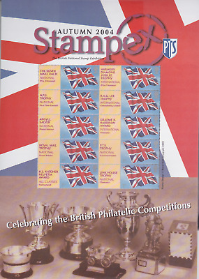 2004 Royal Mint Smilers Stamp Sheet StampEx Autumn Philatelic Competition MNH