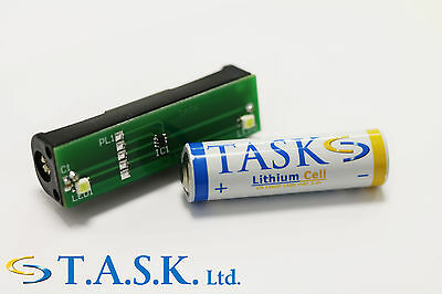 Task Twin Flashing LED Light Module for Dummy Alarm Bell Box (Battery Included)