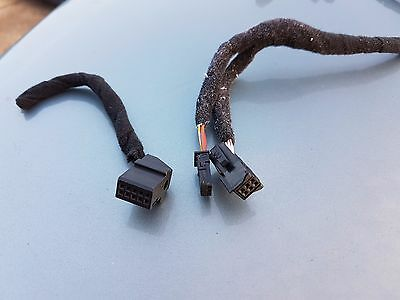 BMW E46 E39 X5 E53 CD Changer and Stereo HARNESS LOOM Wiring with Plugs 330 318