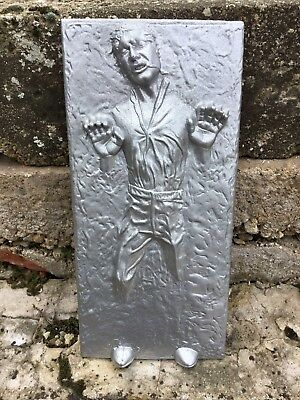 Amazing Star Wars Han Solo In Carbonite Wall Hanger Great Gift