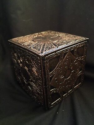 Amazing Hell Raiser Puzzle Box Cube Resin Halloween Costume Fancy Book  Prop