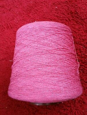cone of rose pink 1/9 filigree please see description