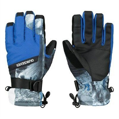 Quiksilver Boys Mission Snowboard/Ski Gloves - eqyhn03019 - new with tags