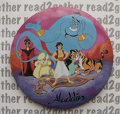 Disney Aladdin Character Button