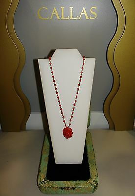 L'gold di Sciacca ESSENCES necklace/necklace Jewel coral/coral and gold/gold