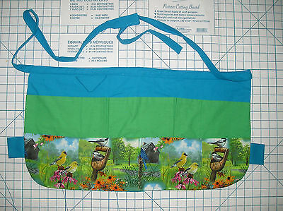 Apron for Teachers, Crafters, Vendors, Gardeners, Servers - Waterproof Lining