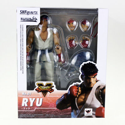 """New Game S.H.Figuarts Street Fighter No.1 Ryu Action Figure 6.3"""" Inch"""