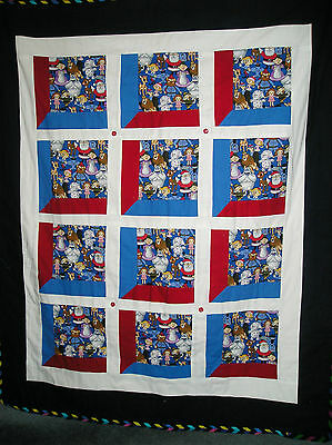 Rudolph the Red Nosed Reindeer & Friends blanket with batting - 50th anniversary