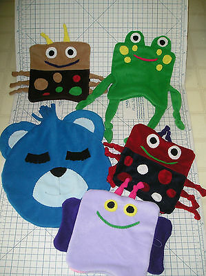 Pillow Covers Fleece Pillows LadyBugs, Butterfly, Frog, Bear or custom made