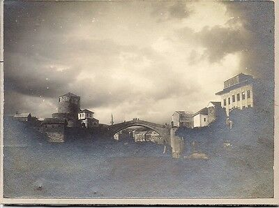 Mostar,set of two,Bosnia,original old photographies,cca 1900,taken from album