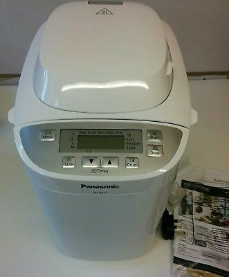 PANASONIC SD-2511WXC Automatic Breadmaker with Timer & 18 Programs White