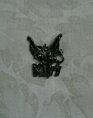 Kiss The Demon Metal Pin
