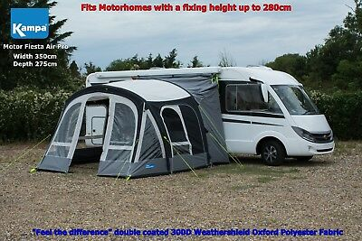 2017 Kampa Motor Fiesta Air Pro 350 - Driveaway Awning for vehicles up to 280cm