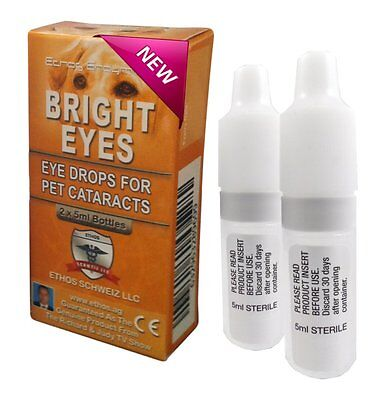 Ethos Bright Eyes Eye Drops for Dogs and Pets with Cataracts 1 Box 10ml