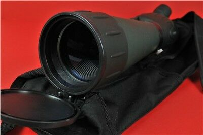 LUYI Level Eyepiece Spotting Scope 20-120X75 Zoom Telescope Army Green