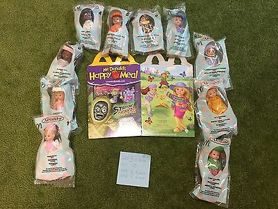 2003-Set of 10 Madame Alexander/McDonalds Dolls-Mint In Bags With Orig Box,  #1